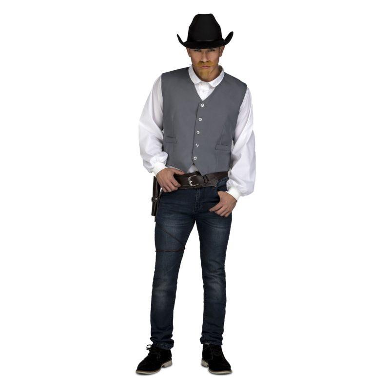 chaleco gris vaquero hombre 800x800 - DISFRAZ DE CHALECO VAQUERO GRIS ADULTO