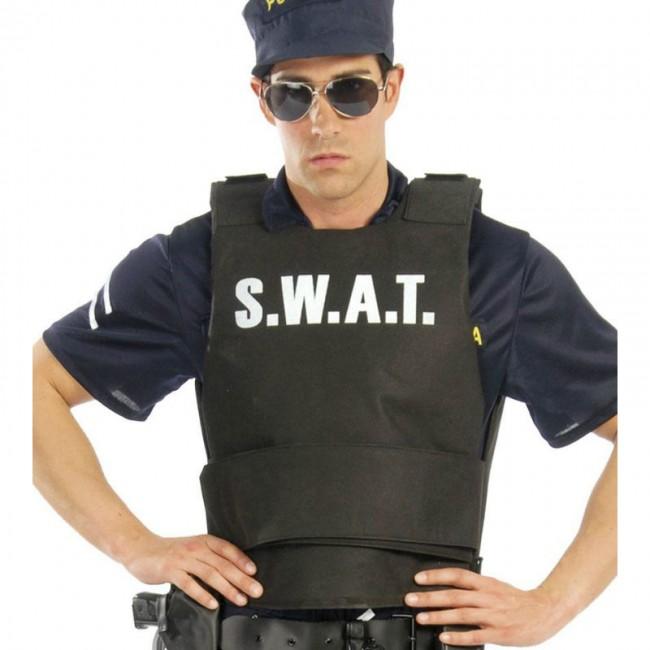 chaleco swat adulto - CHALECO ANTIBALAS SWAT HOMBRE
