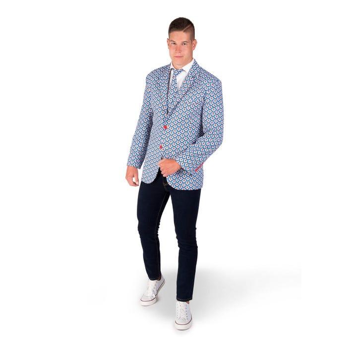 chaqueta de doraemon adulto - DISFRACES HOMBRE