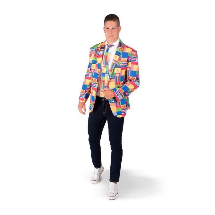 chaqueta sesame street adulto - DISFRACES HOMBRE