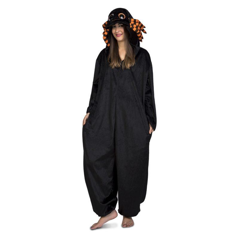 disfra pijama araña adulto 800x800 - DISFRAZ DE PIJAMA ARAÑA ADULTO