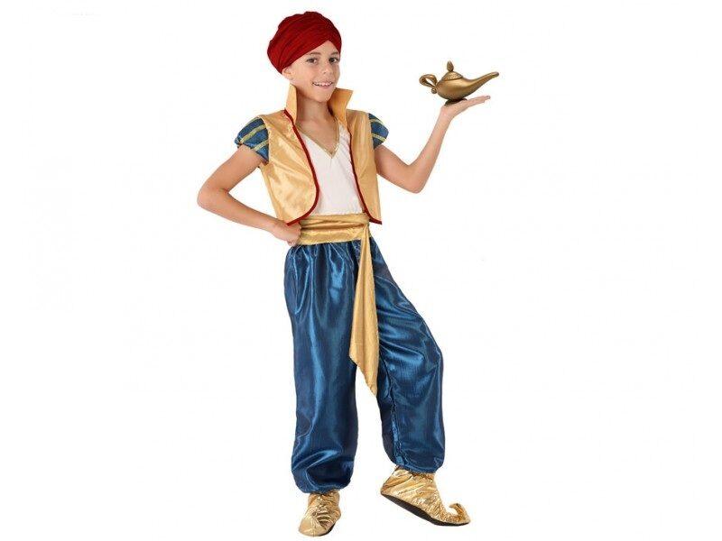 disfraz árabe aladdín niño 800x600 - DISFRAZ DE ALADDíN INFANTIL