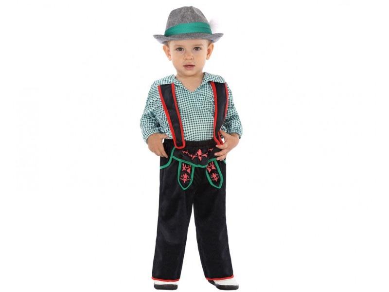 disfraz aleman tirolés bebé - DISFRAZ DE ALEMAN TIROLES BEBE