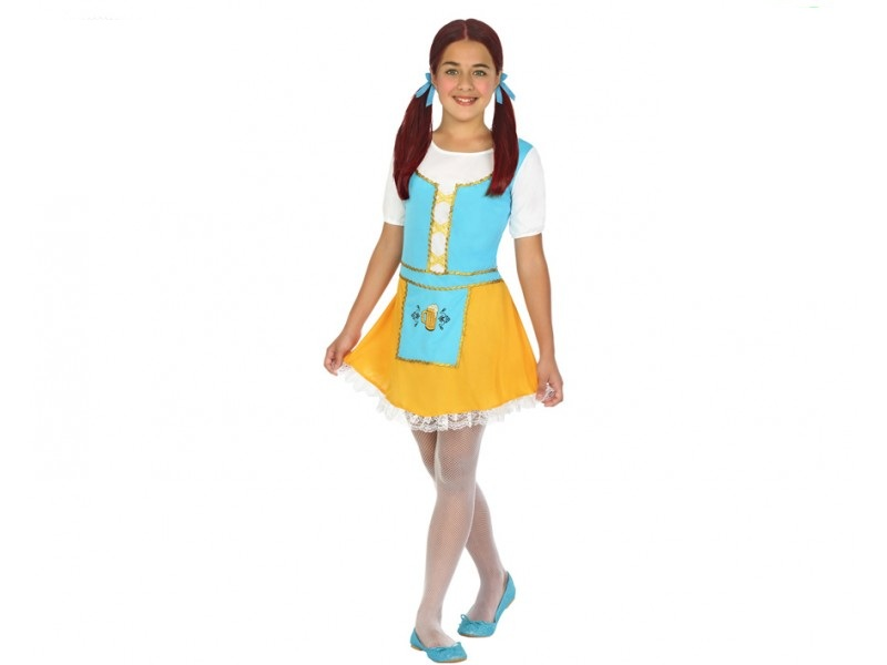 disfraz alemana niña - DISFRAZ DE TIROLESA ALEMANA NIÑA