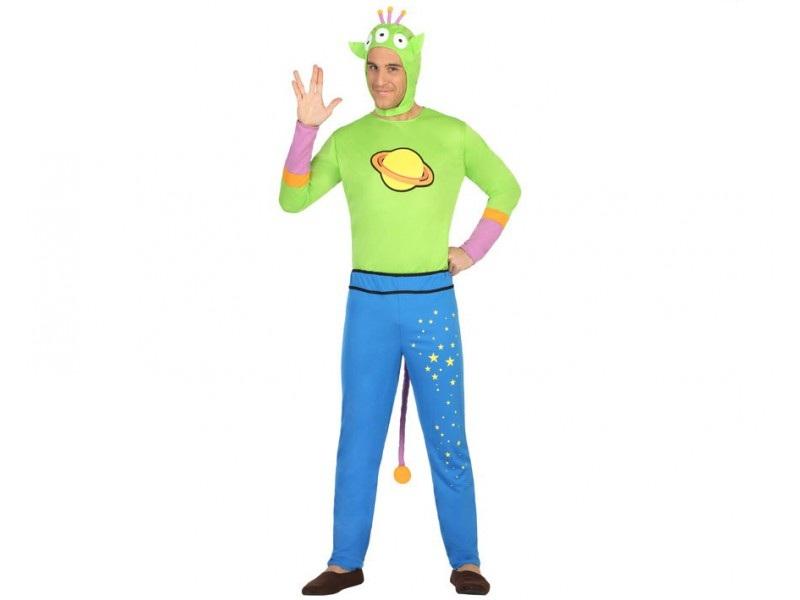 disfraz alien hombre - DISFRAZ DE ALIEN PLANETA HOMBRE