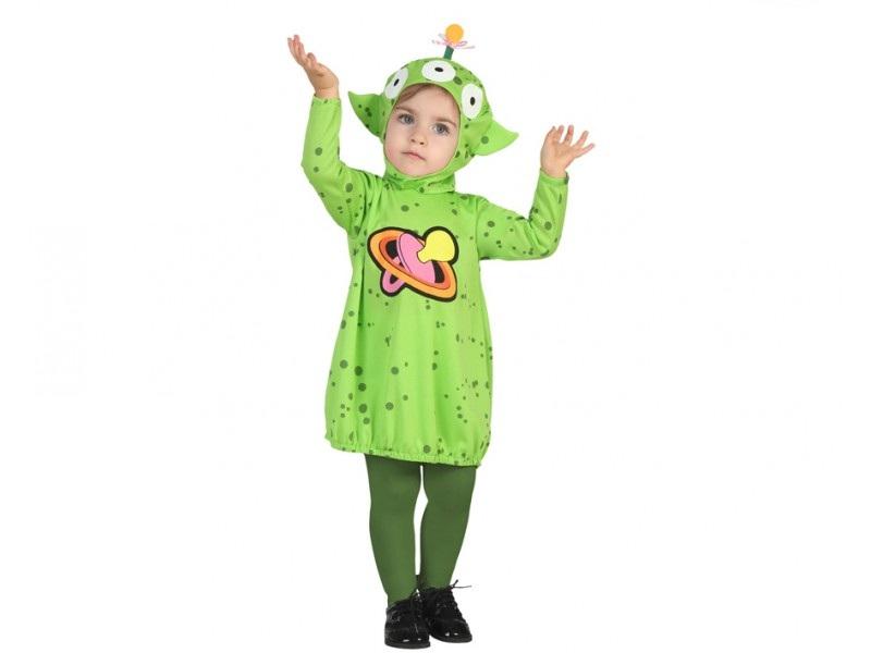 disfraz alien niña bebé - DISFRAZ DE ALIEN BEBE NIÑA
