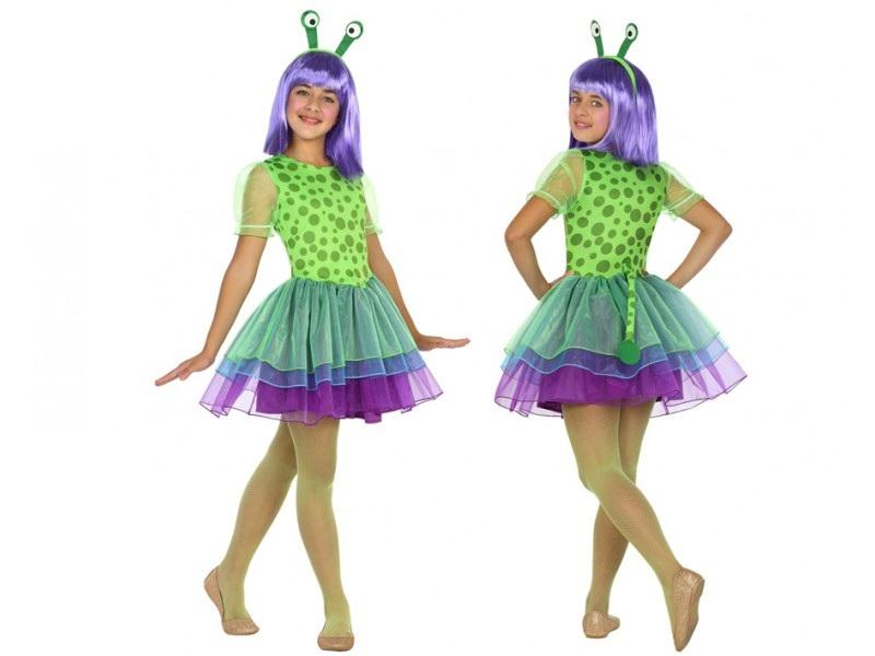 disfraz alien niña - DISFRAZ DE ALIEN NIÑA