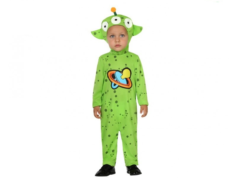 disfraz alien niño bebé - DISFRAZ DE ALIEN BEBENIÑO