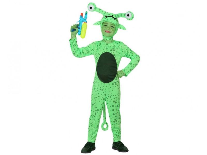 disfraz alien niño - DISFRAZ DE MARCIANO ALIENIGENA INFANTIL