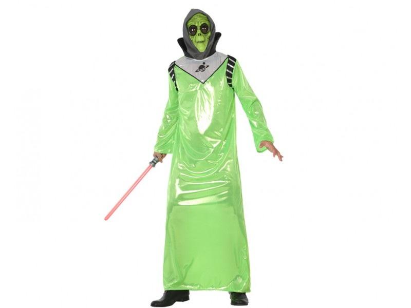 disfraz alien verde hombre - DISFRAZ DE ALIEN VERDE HOMBRE