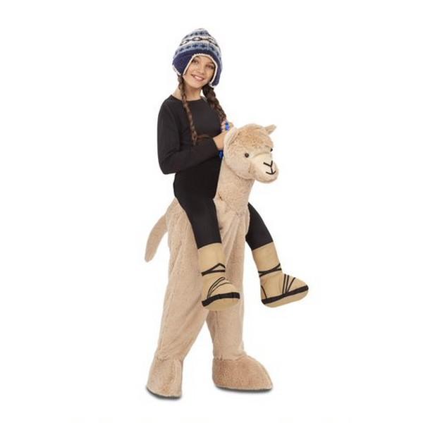 disfraz alpaca infantil - DISFRAZ DE ALPACA A HOMBROS INFANTIL