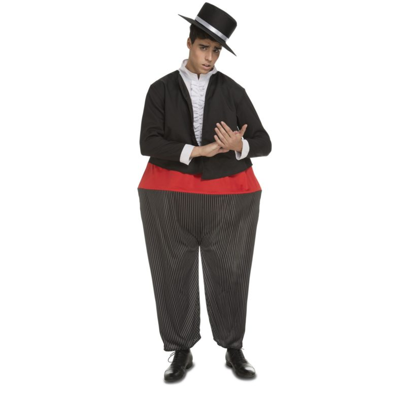 disfraz andaluz gordito hombre 800x800 - DISFRAZ DE CANTAOR FLAMENCO GORDITO HOMBRE