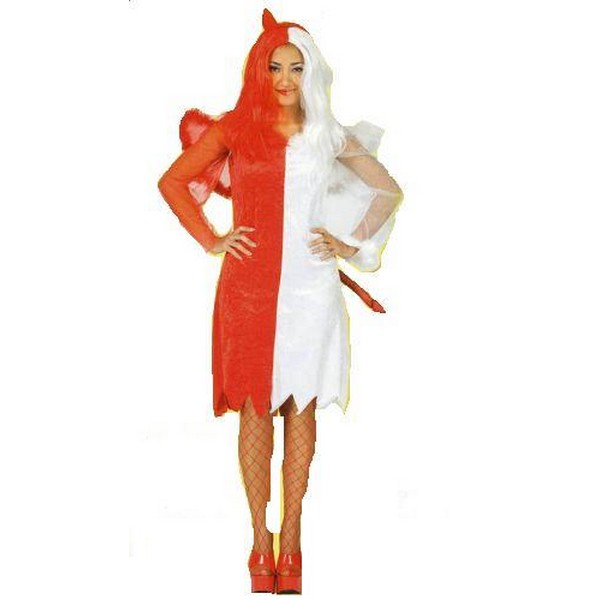 disfraz angel demonio mujer - DISFRAZ DE ÁNGEL Y DEMONIO MUJER