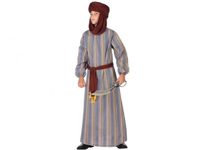 disfraz arabe túnica niño 800x600 - DISFRAZ DE ÁRABE TÚNICA NIÑO