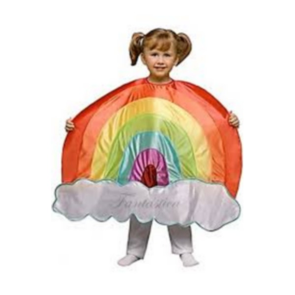 disfraz arco iris infantil - DISFRAZ DE ARCO IRIS INFANTIL