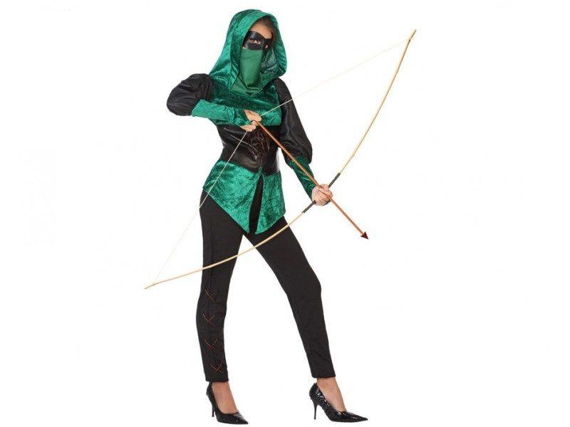 disfraz arquera mujer 800x600 - DISFRAZ DE  ARQUERA MUJER