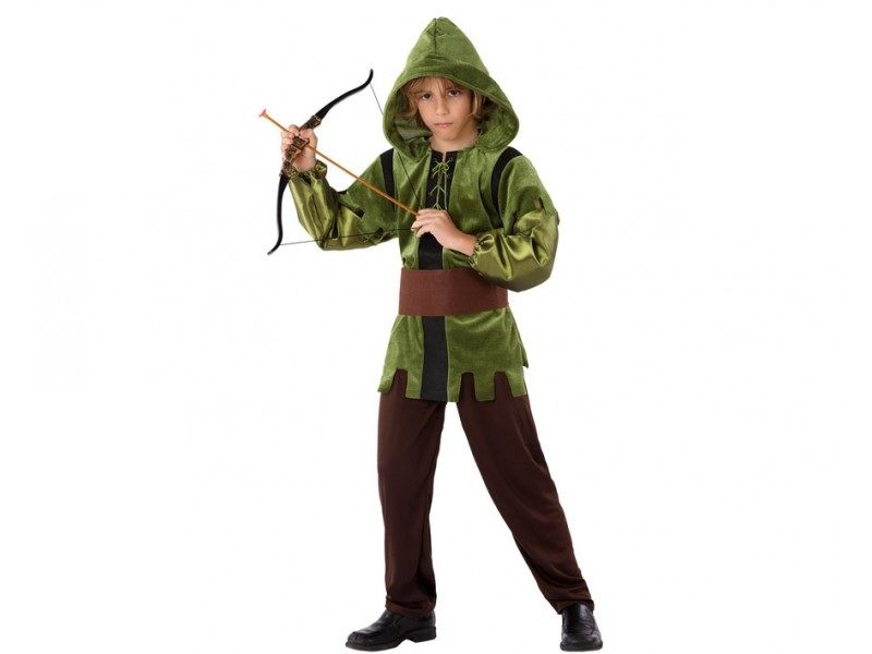 disfraz arquero niño 800x600 - DISFRAZ DE ARQUERO NIÑO
