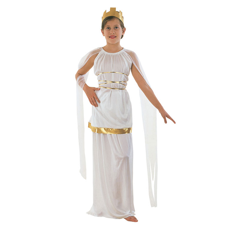 disfraz athenea infantil - DISFRAZ DE GRIEGA  ATHENEA NIÑA