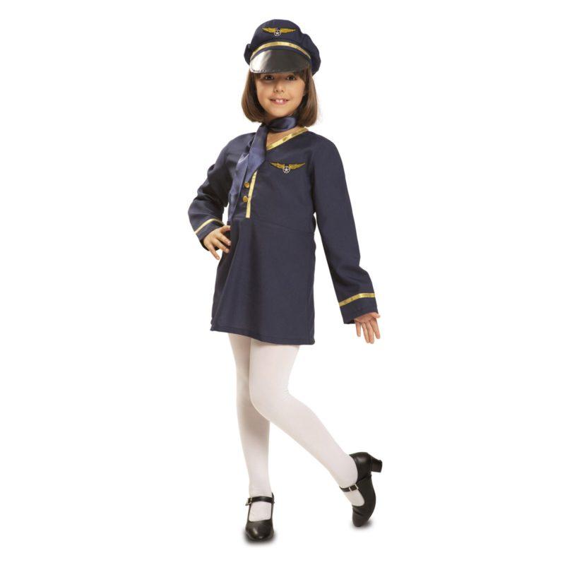 disfraz azafata niña 800x800 - DISFRAZ DE AZAFATA NIÑA