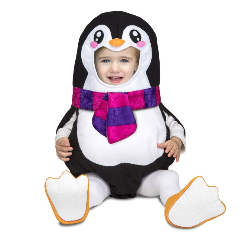 disfraz baloon pinguino bebé 800x800 - DISFRAZ DE BALOON PINGUINO BEBÉ