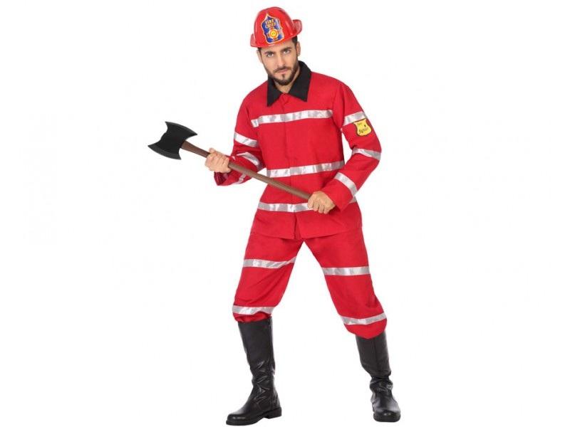 disfraz bombero hombre - DISFRAZ DE BOMBERO HOMBRE