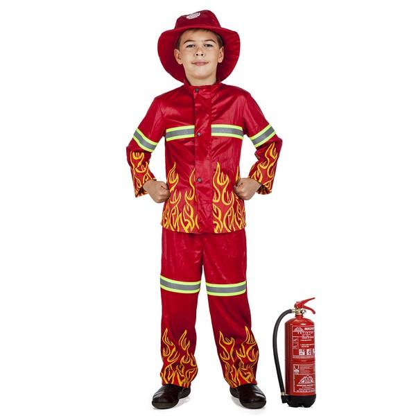 disfraz bombero niño - DISFRAZ DE BOMBERO NIÑO