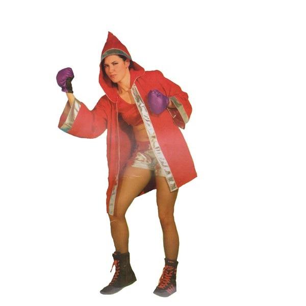 disfraz boxeadora mujer 1 - DISFRAZ DE BOXEADORA MUJER