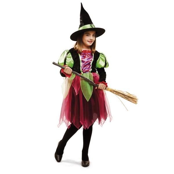 disfraz bruja fantasia niña - DISFRAZ DE BRUJA FANTASIA NIÑA