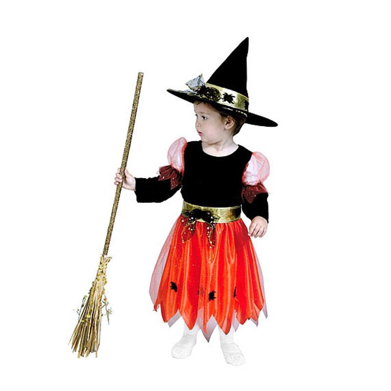 disfraz brujita infantil - DISFRAZ DE BRUJITA INFANTIL