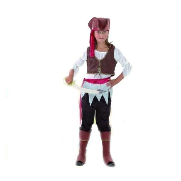 disfraz bucanera niña - DISFRAZ DE PIRATA CARIBEÑA NIÑA