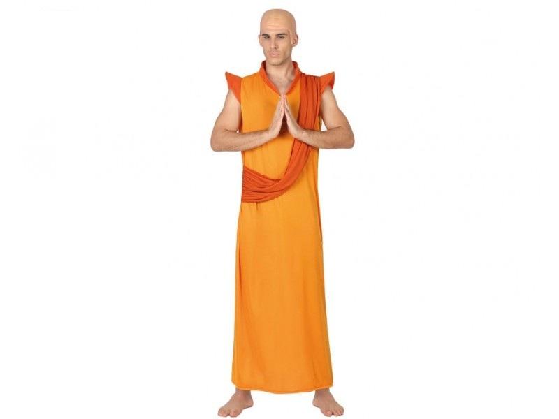 disfraz budista hombre - DISFRAZ DE BUDISTA HOMBRE