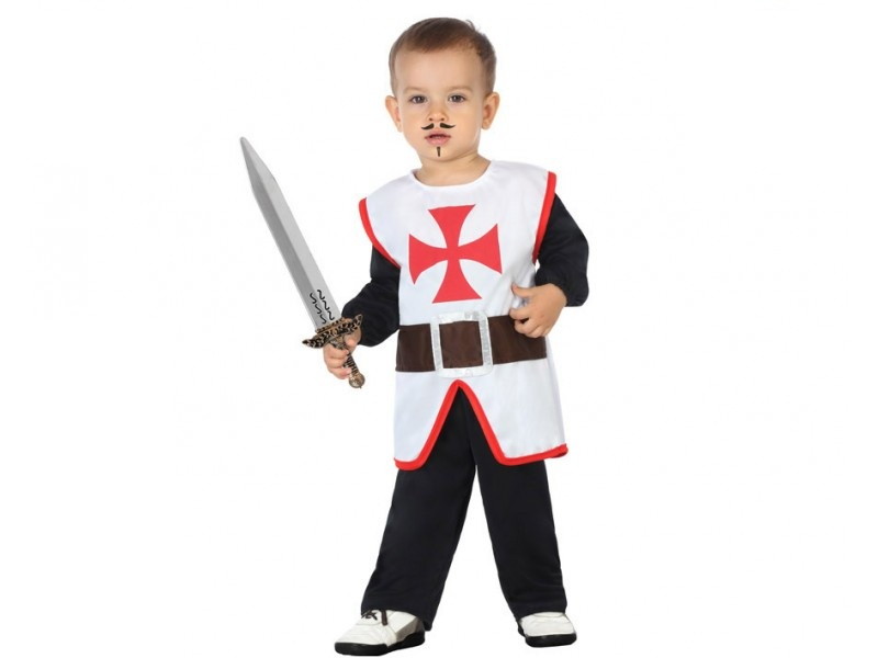 disfraz caballero cruzadas bebé - DISFRAZ DE CABALLERO CRUZADAS BEBE NIÑO