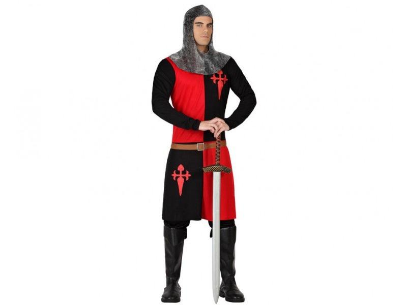 disfraz caballero cruzadas hombre. - DISFRAZ DE CABALLERO CRUZADAS HOMBRE