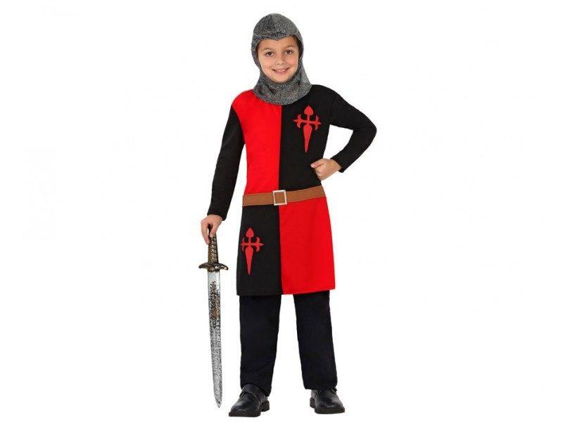 disfraz caballero cruzadas niño 1 800x600 - DISFRAZ DE CABALLERO CRUZADAS NIÑO