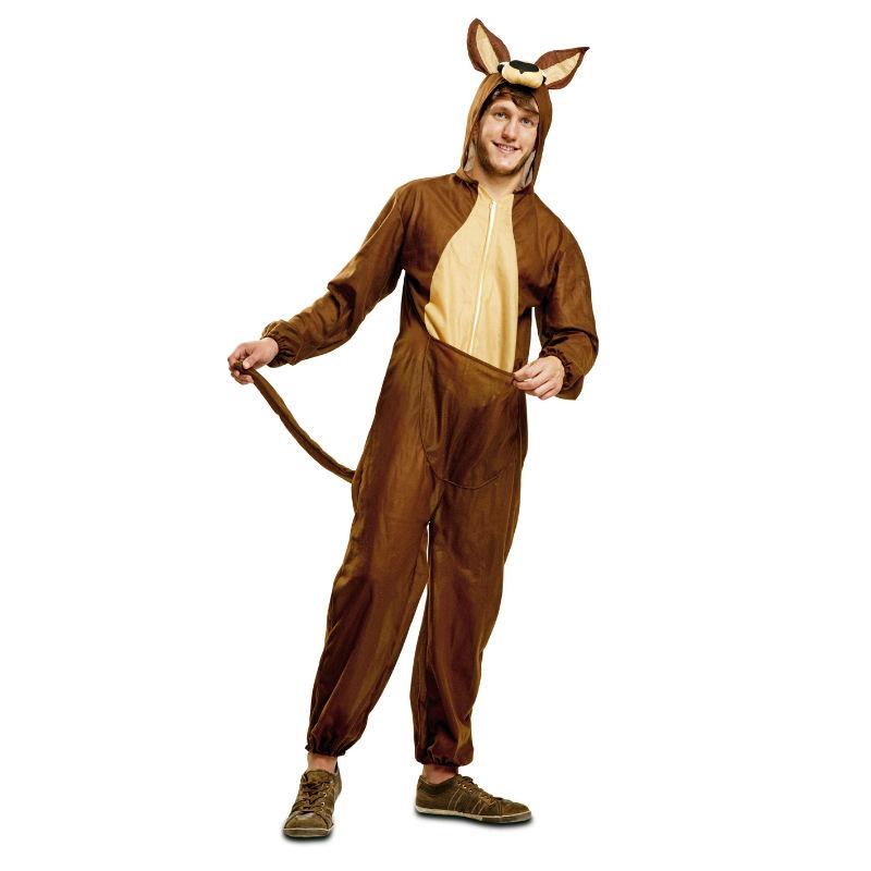 disfraz canguro adulto - DISFRAZ DE CANGURO ADULTO