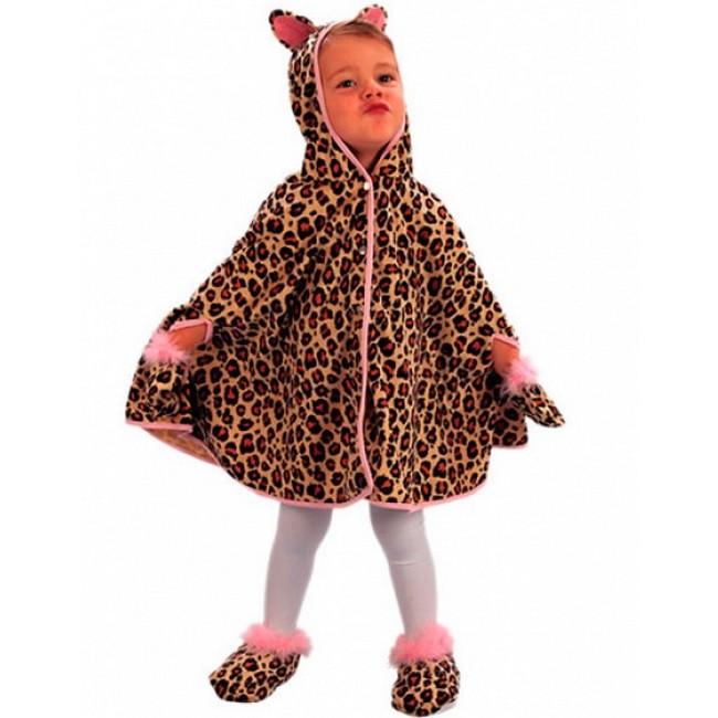 disfraz capa leopardo niño 82376 - DISFRAZ DE LEOPARDO NIÑO