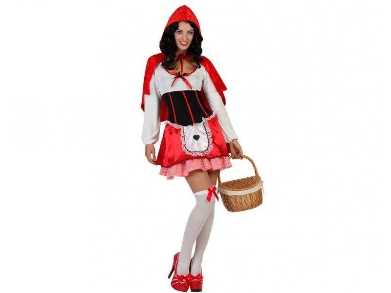 disfraz caperucita mujer 800x600 - DISFRAZ DE CAPERUCITA MUJER