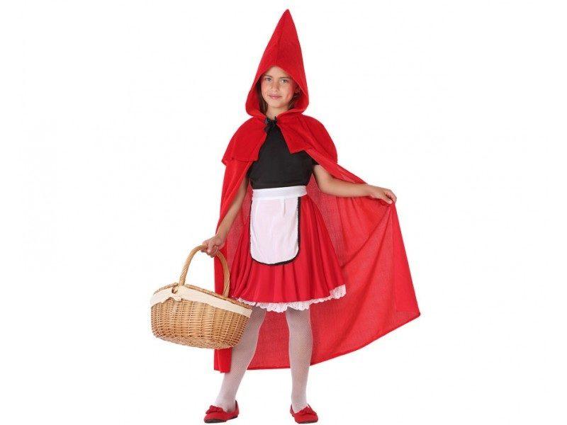 disfraz caperucita niña 800x600 - DISFRAZ DE CAPERUCITA ROJA NIÑA