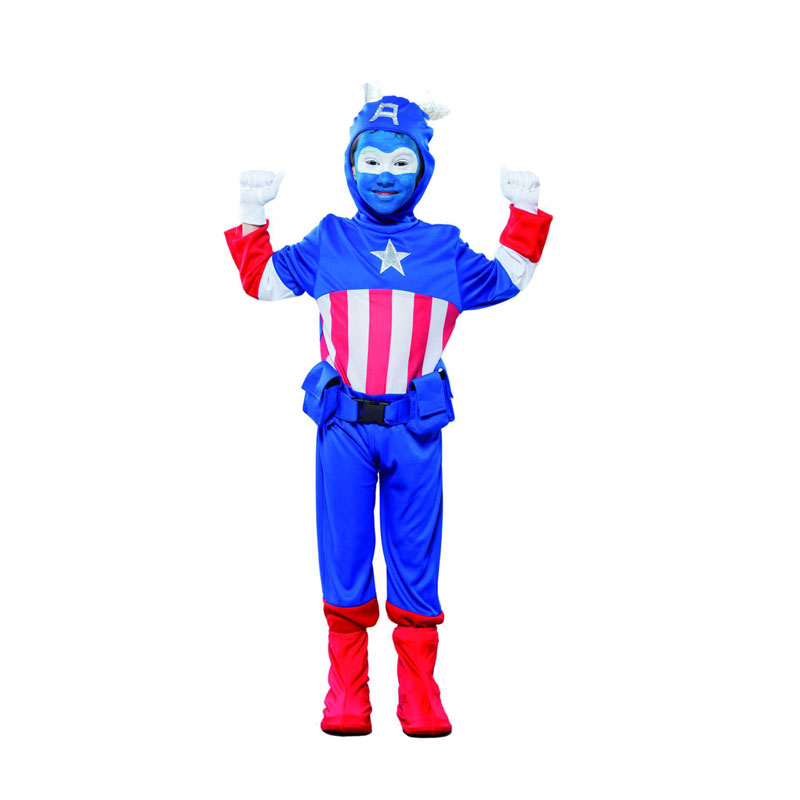 disfraz capitán américa infantil - DISFRAZ DE CAPITAN AMERICA INFANTIL