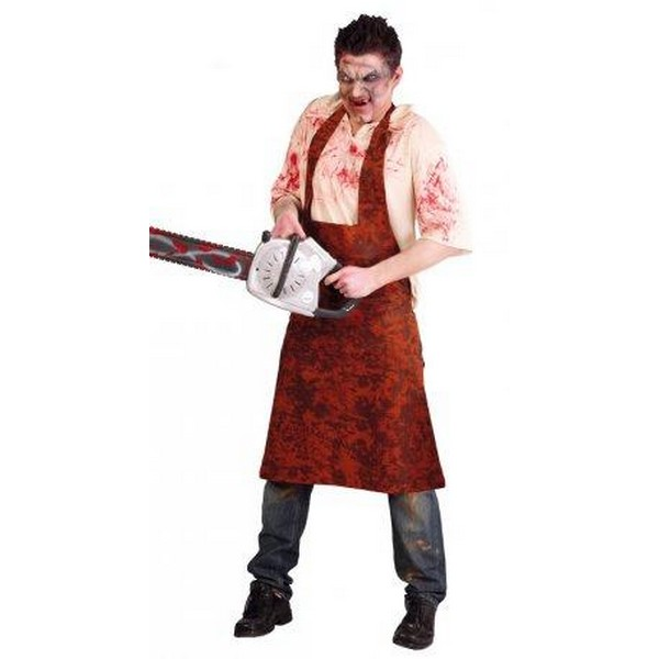 disfraz carnicero adulto - DISFRAZ DE LEA THERFACE ADULTO
