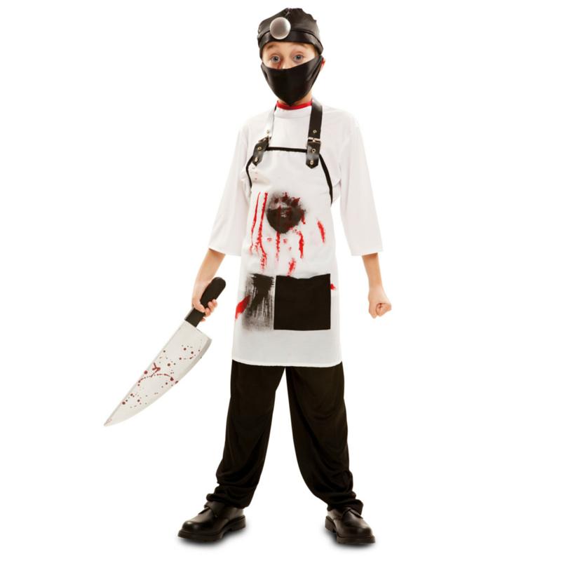 disfraz carnicero asesino infantil - DISFRAZ DE CARNICERO ASESINO INFANTIL