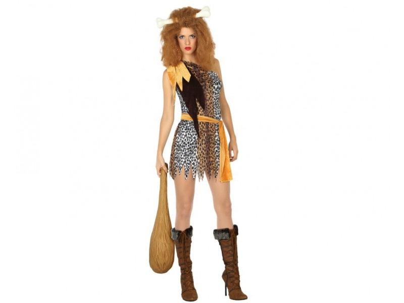 disfraz cavernícola mujer 2 - DISFRAZ DE CAVERNÍCOLA MUJER