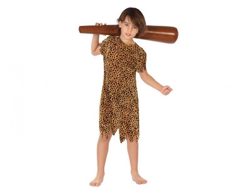 disfraz cavernícola niño 1 - DISFRAZ DE CAVERNICOLA NIÑO
