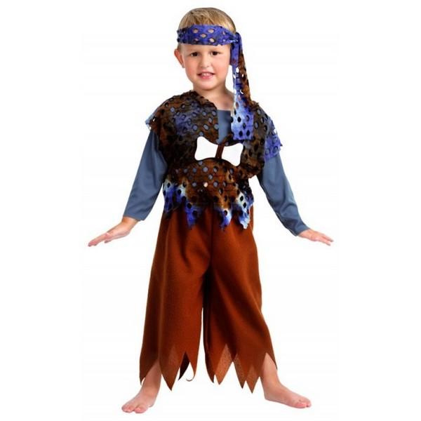disfraz cavernícola niño - DISFRAZ DE CAVERNICOLA TROGLODITA NIÑO