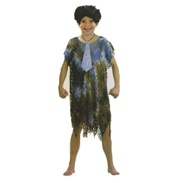 disfraz cavernícola prehistórico niño - DISFRAZ DE CAVERNICOLA TROGLODITA NIÑO