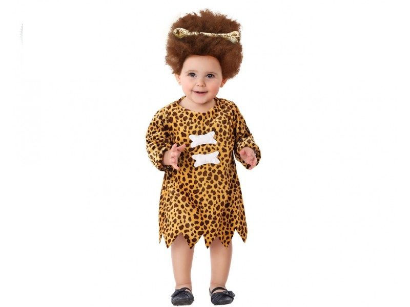 disfraz cavernicola bebé niña 800x600 - DISFRAZ DE CAVERNÍCOLA BEBÉ NIÑA