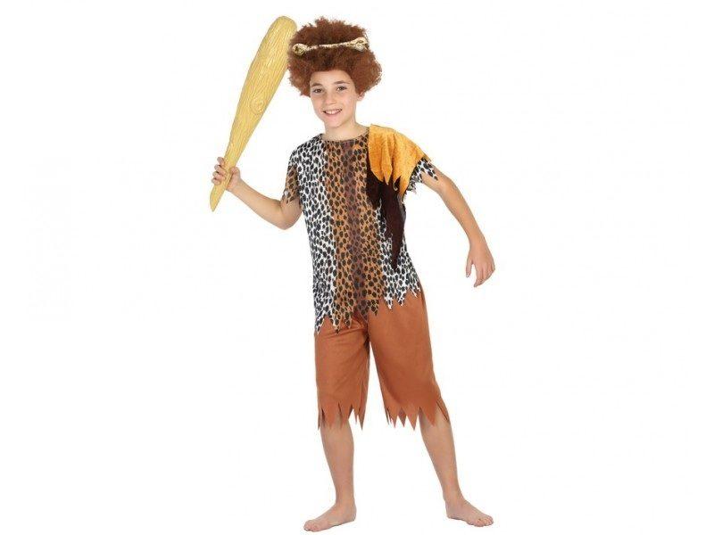 disfraz cavernicola niño 800x600 - DISFRAZ DE CAVERNICOLA TROGLODITA NIÑO