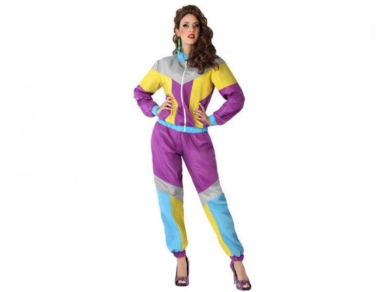 disfraz chandal mujer 800x600 - DISFRAZ  CHANDAL DE LOS 80 MUJER