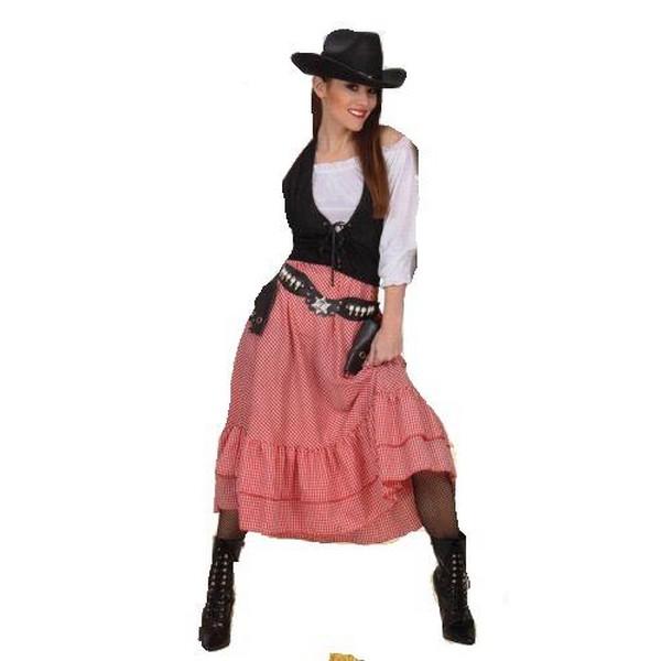 disfraz chica oeste - DISFRAZ DE CHICA DEL OESTE MUJER