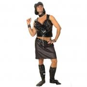 disfraz chica punky hombre - DISFRAZ DE CHICA PUNKY HOMBRE